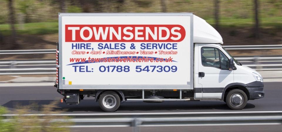 Townsend vehicle hire van