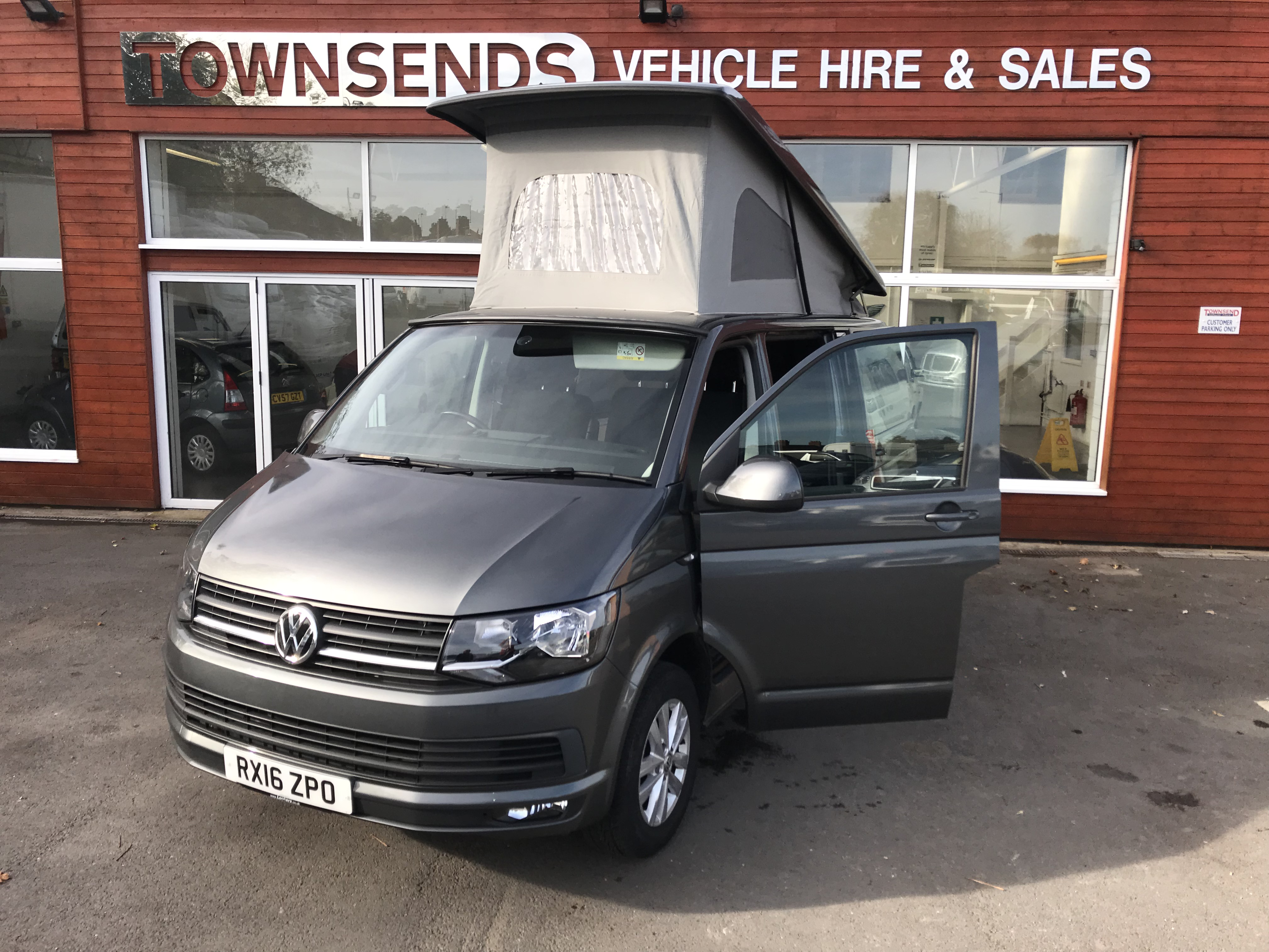 Campervan Hire - Townsends Car & Van Rental, Rugby